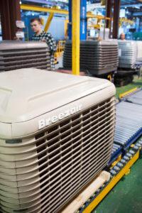 Climatizador evaporativo Breezair